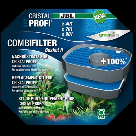 JBL Combi Filter Basket CristalProfi e4/7/901,2 - Filterkorb Nachrüstsatz für JBL CristalProfi Außen