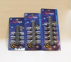 Luftverteiler für Ø 4 mm Luftschlauch 6-fach