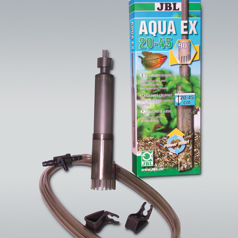 Bodenreiniger für Aquarien mit 20-45 cm Höhe