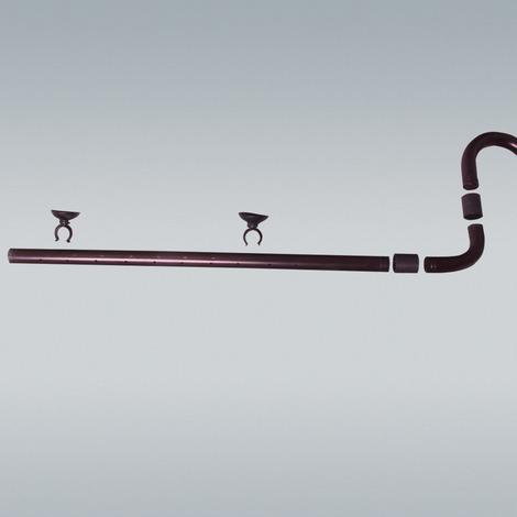 JBL OutSet spray 12/16 CristalProfi e4/7/901,2 - Wasserrücklauf-Set mit 2-teiligem Düsenstrahlrohr f