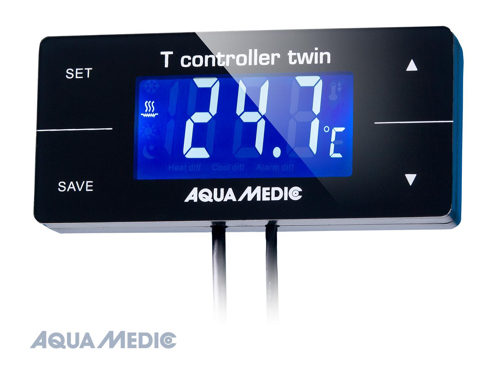T controller twin - Digitales Temperatur Mess- und Regelgerät zur gleichzeitigen Steuerung von Heiz-