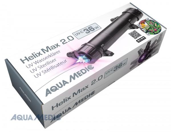 Helix Max 2.0 - 36 W UV-C Wasserklärer für Meer- und Süßwasseraquarien