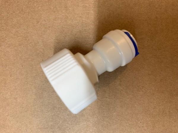 """OS-Perfekt - Wasseranschluss 3/4"""" Innengewinde für 3/8 (10 mm) Schlauch für Osmosewasser"""