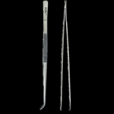 JBL ProScape Tool P 30 curved 30 cm - Abgewinkelte Pinzette für Pflanzen und Aquariendekoration