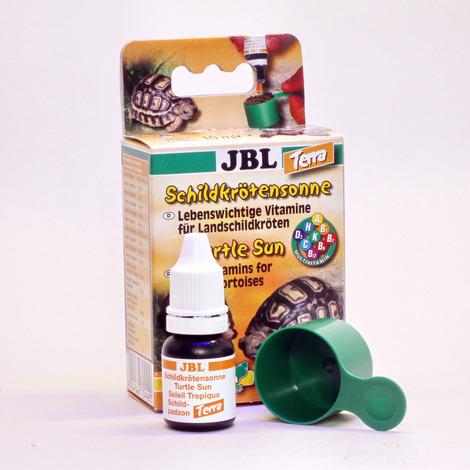 JBL Schildkrötensonne Terra 10 ml - Vitamine für Landschildkröten