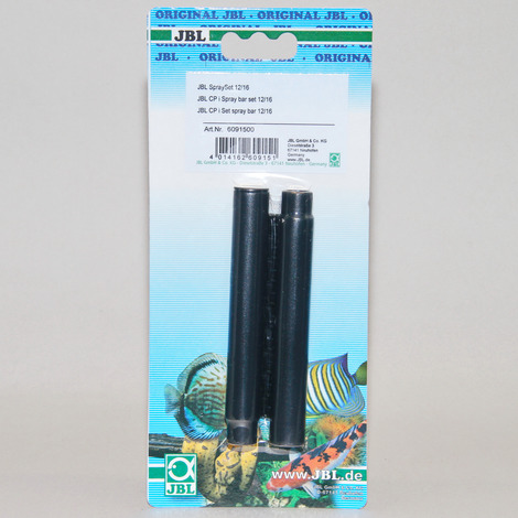 JBL SpraySet 12/16 - Wasserauslauf-Set mit 2-teiligem Düsenstrahlrohr für Innenfilter von Aquarien