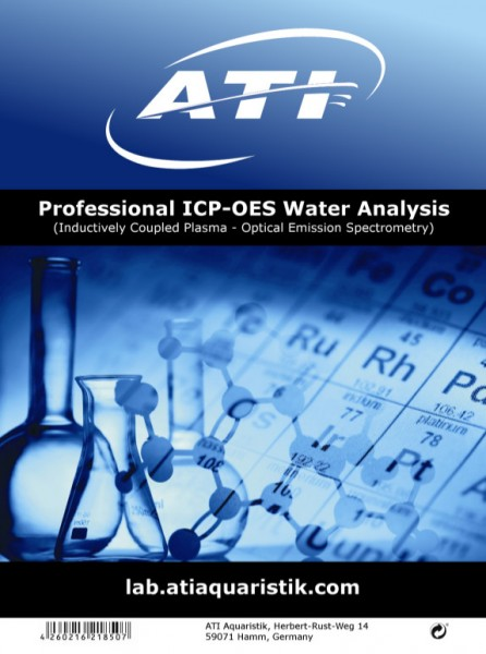 ATI- ICP-OES Water Analysis Set 3 Stück / Test